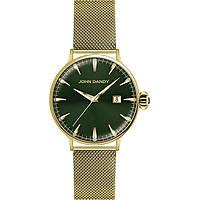 Uhr nur Zeit mann John Dandy JD-2609M/08M