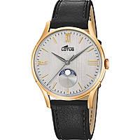 Uhr nur Zeit mann Lotus Retro 18428/1