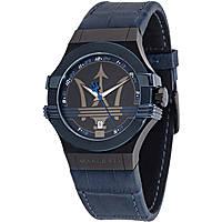 Uhr nur Zeit mann Maserati Potenza R8851108007