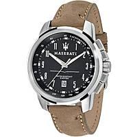 Uhr nur Zeit mann Maserati Successo R8851121004