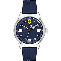 Uhr nur Zeit mann Scuderia Ferrari Pitlane FER0840020