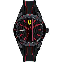 Uhr nur Zeit mann Scuderia Ferrari Redrev FER0830479