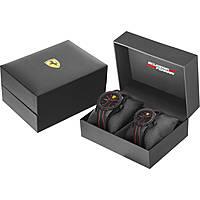 Uhr nur Zeit mann Scuderia Ferrari Redrev FER0870021