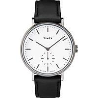 Uhr nur Zeit mann Timex Fairfield Sub Second TW2R38000