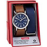 Uhr nur Zeit mann Timex Weekender TWG015000
