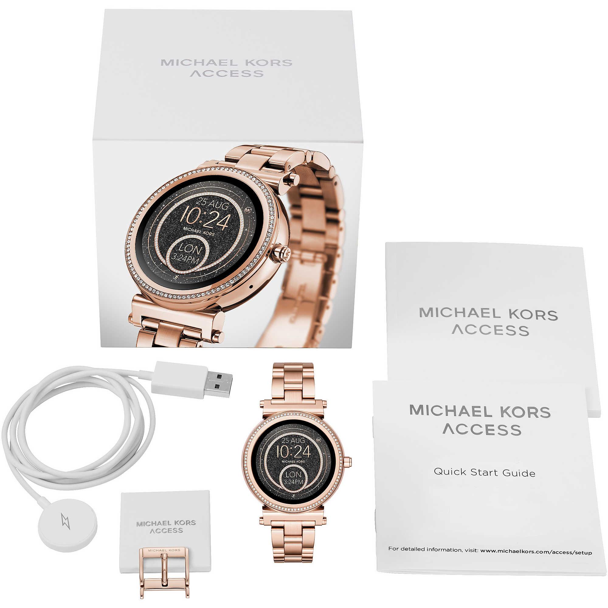 Uhr Smartwatch frau Michael Kors Sofie MKT5022 Smartwatches Michael Kors 59ebcbbb31