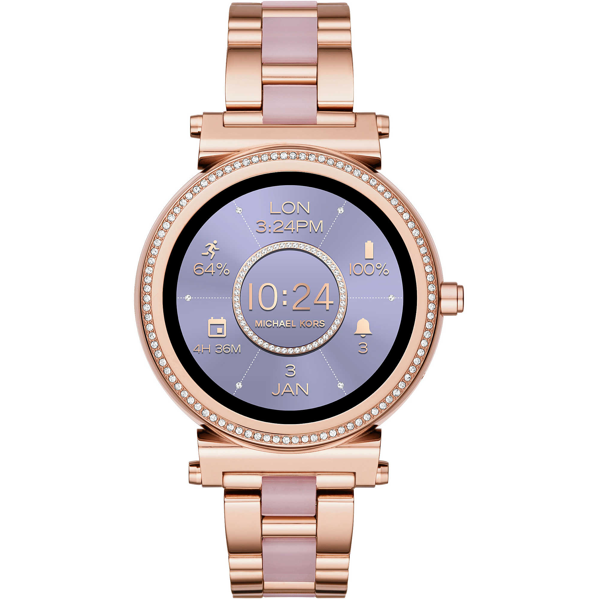 58475fee3ec Uhr Smartwatch frau Michael Kors Sofie MKT5041 Smartwatches Michael Kors