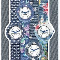 Uhr uhrenarmband frau Hip Hop Jeans HBU0406