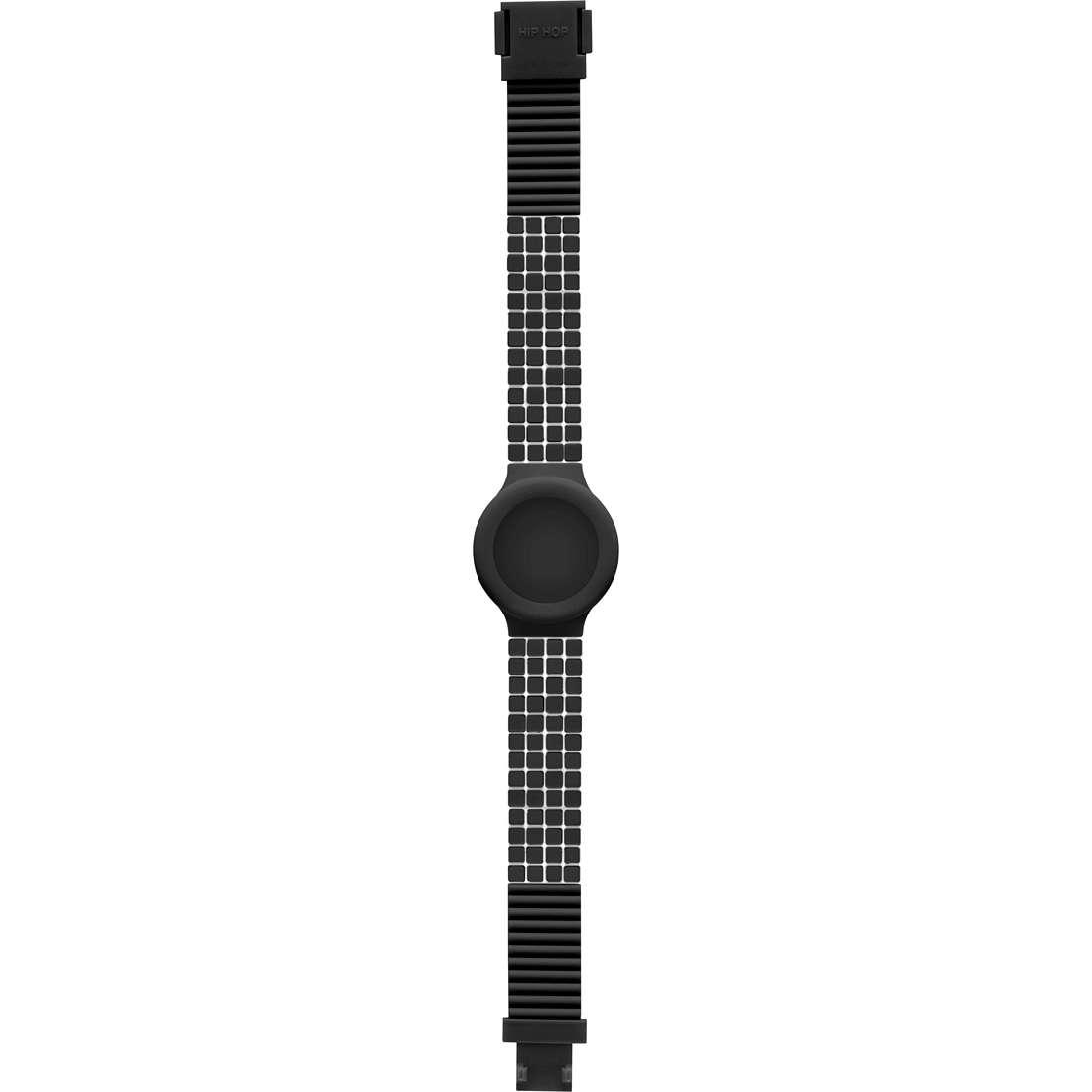 watch accessory woman Hip Hop Black Tie HBU0483