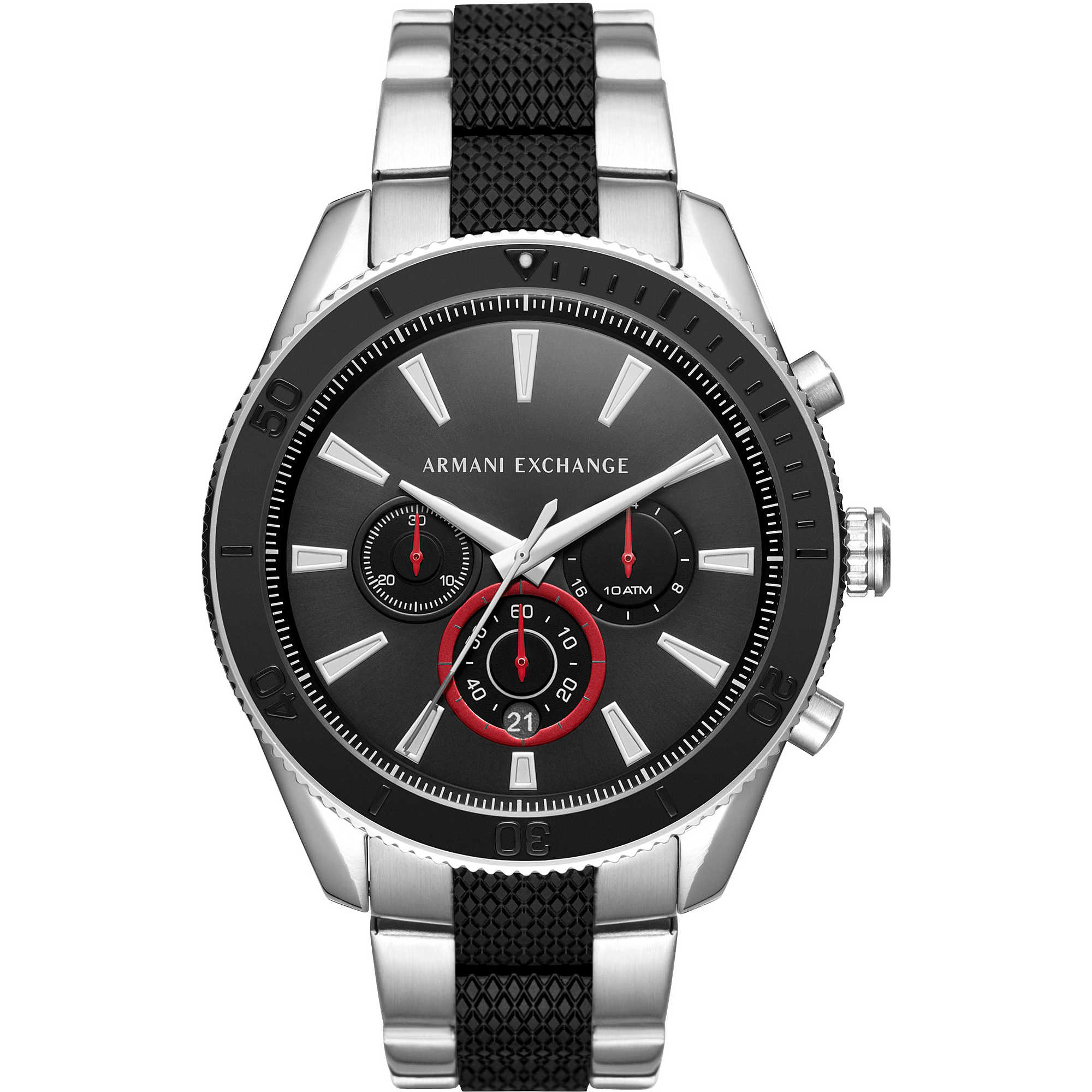 4f2a5372be7d watch chronograph man Armani Exchange Enzo AX1813 chronographs ...