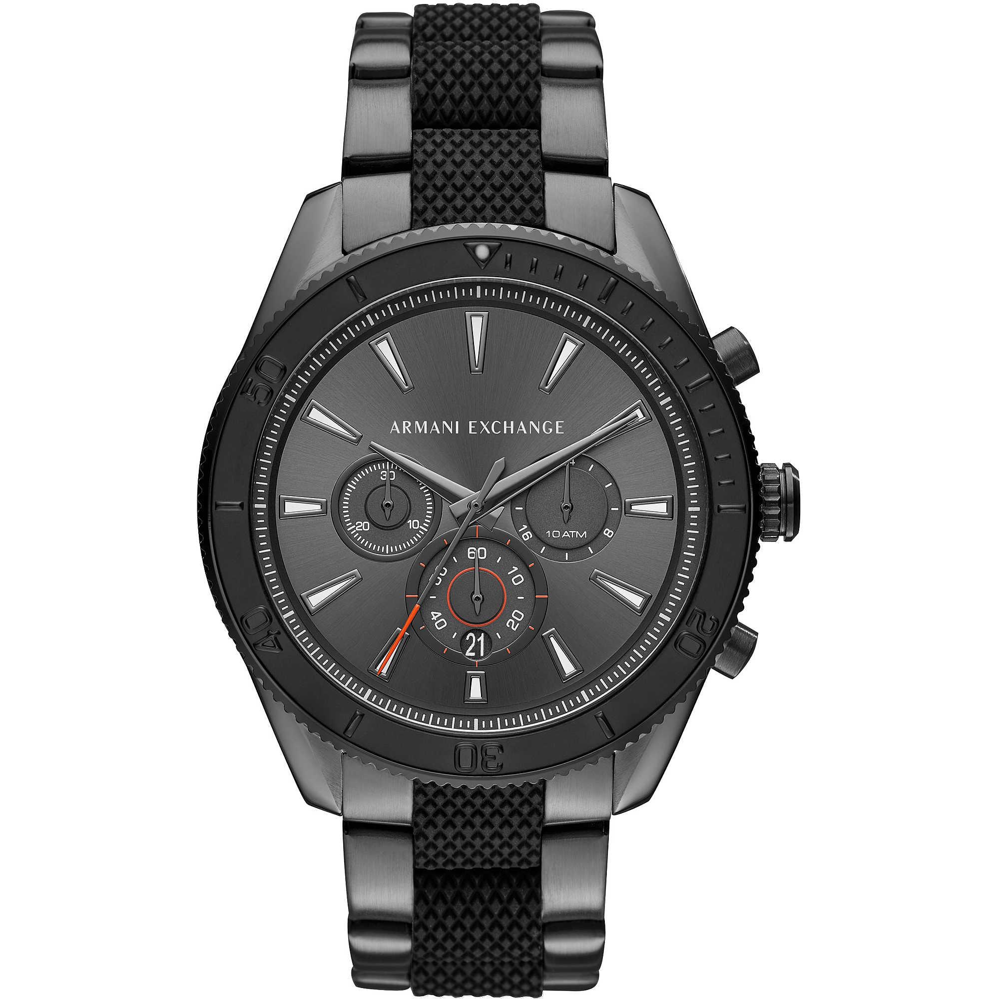 Enzo Bands: Watch Chronograph Man Armani Exchange Enzo AX1816