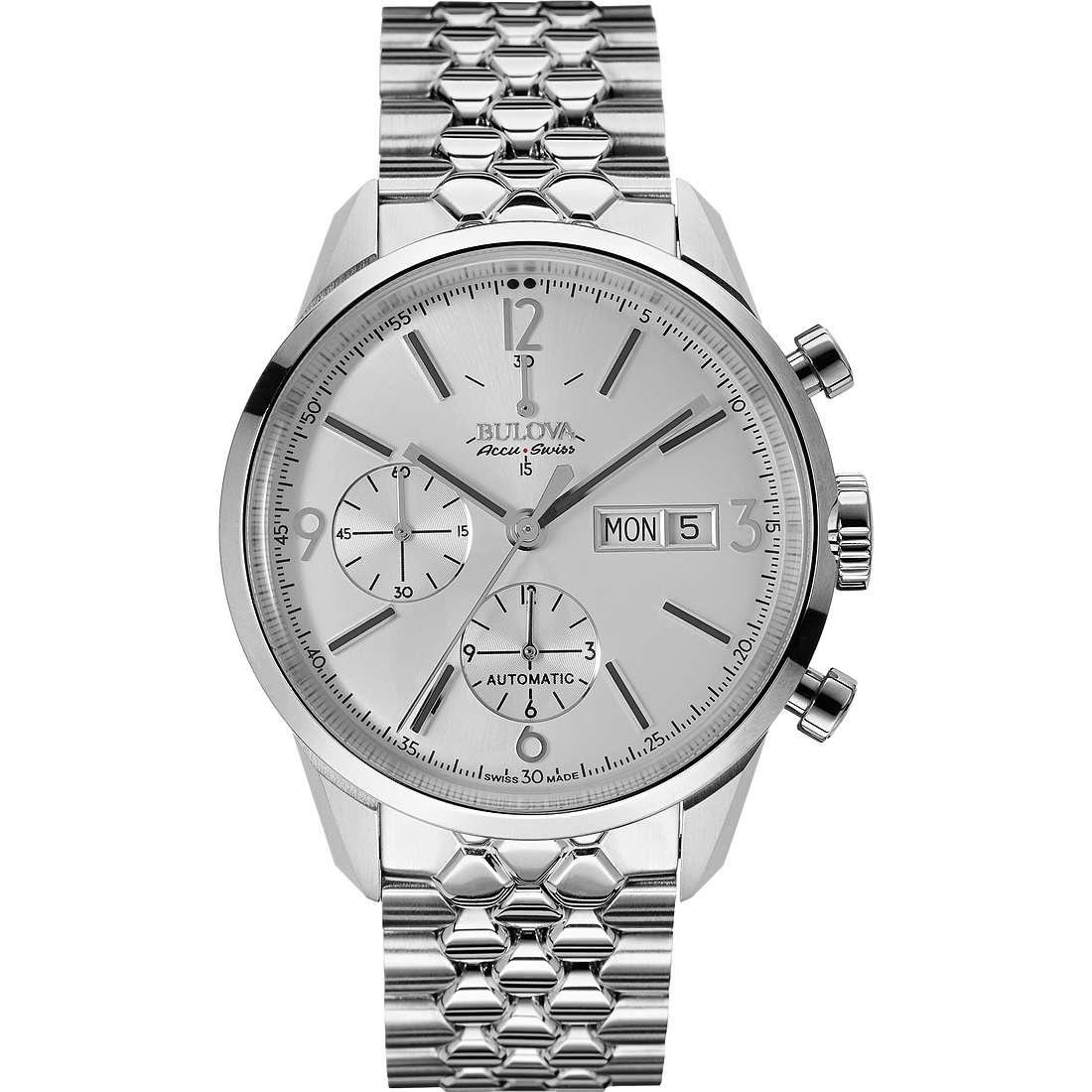 watch chronograph man Bulova Accu Swiss Murren 63C118