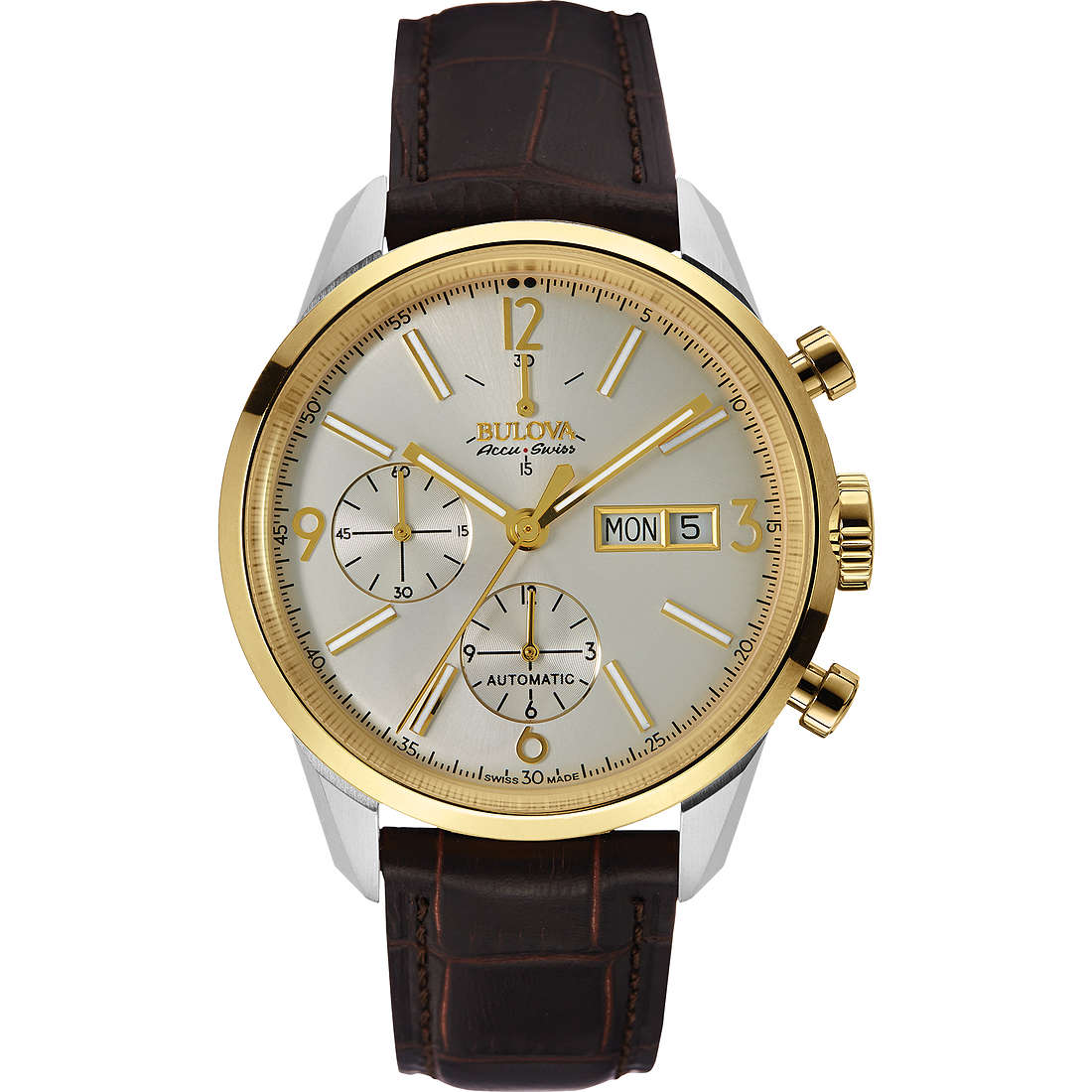 watch chronograph man Bulova Accu Swiss Murren 65C112