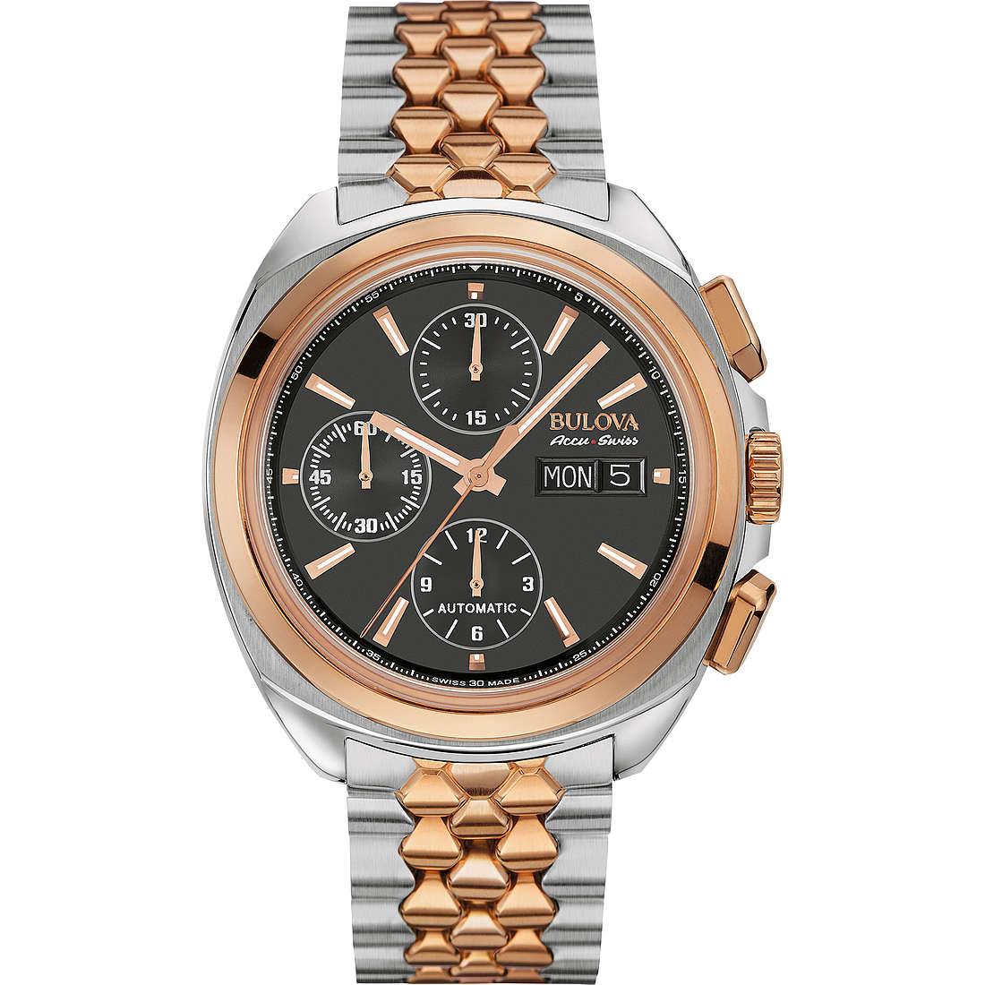 watch chronograph man Bulova Accu Swiss Telc 65B168