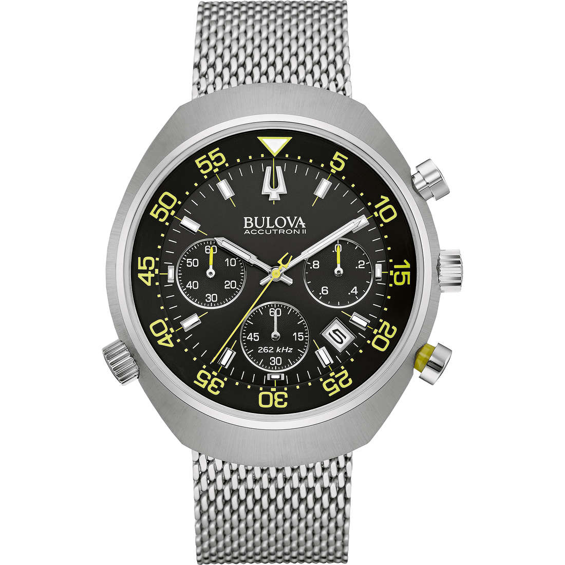 watch chronograph man Bulova Accutron II Lobster 96B236