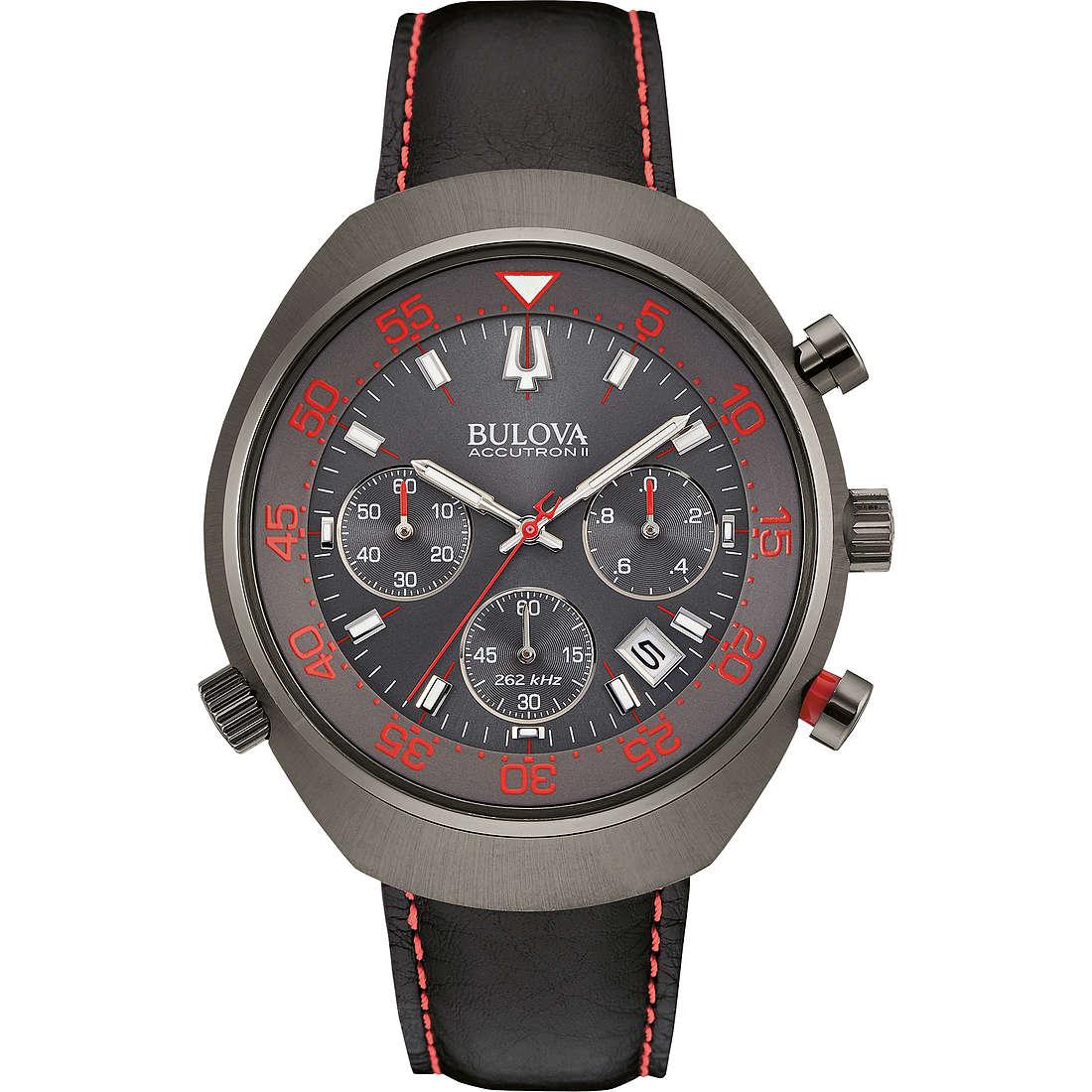 watch chronograph man Bulova Accutron II Lobster 98B252