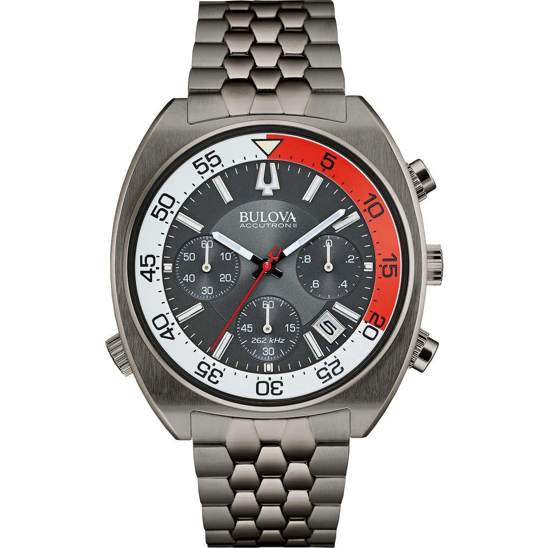 watch chronograph man Bulova Accutron II Snorkel 98B253
