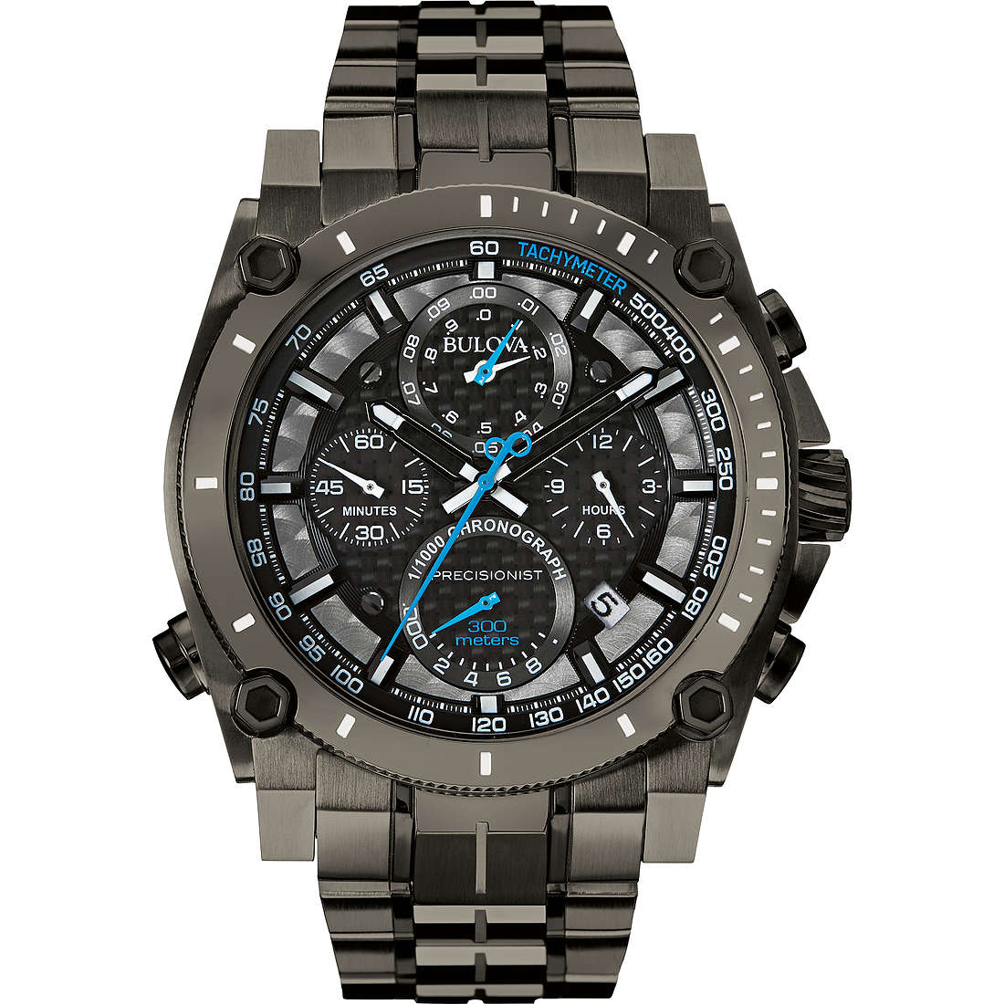 watch chronograph man Bulova Champlain Chrono 98B229