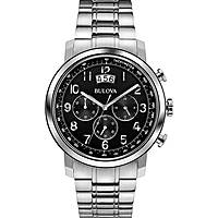 watch chronograph man Bulova Dress 96B202