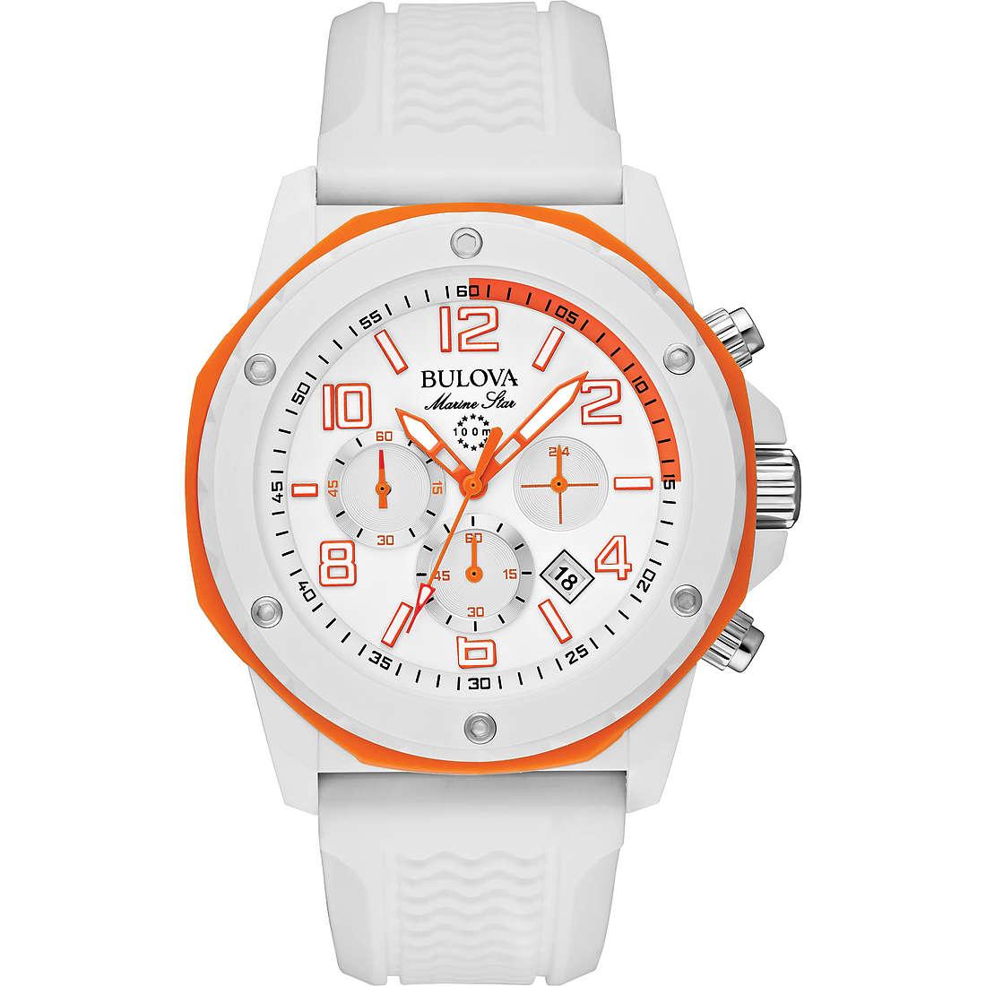 watch chronograph man Bulova Marine Star 98B199