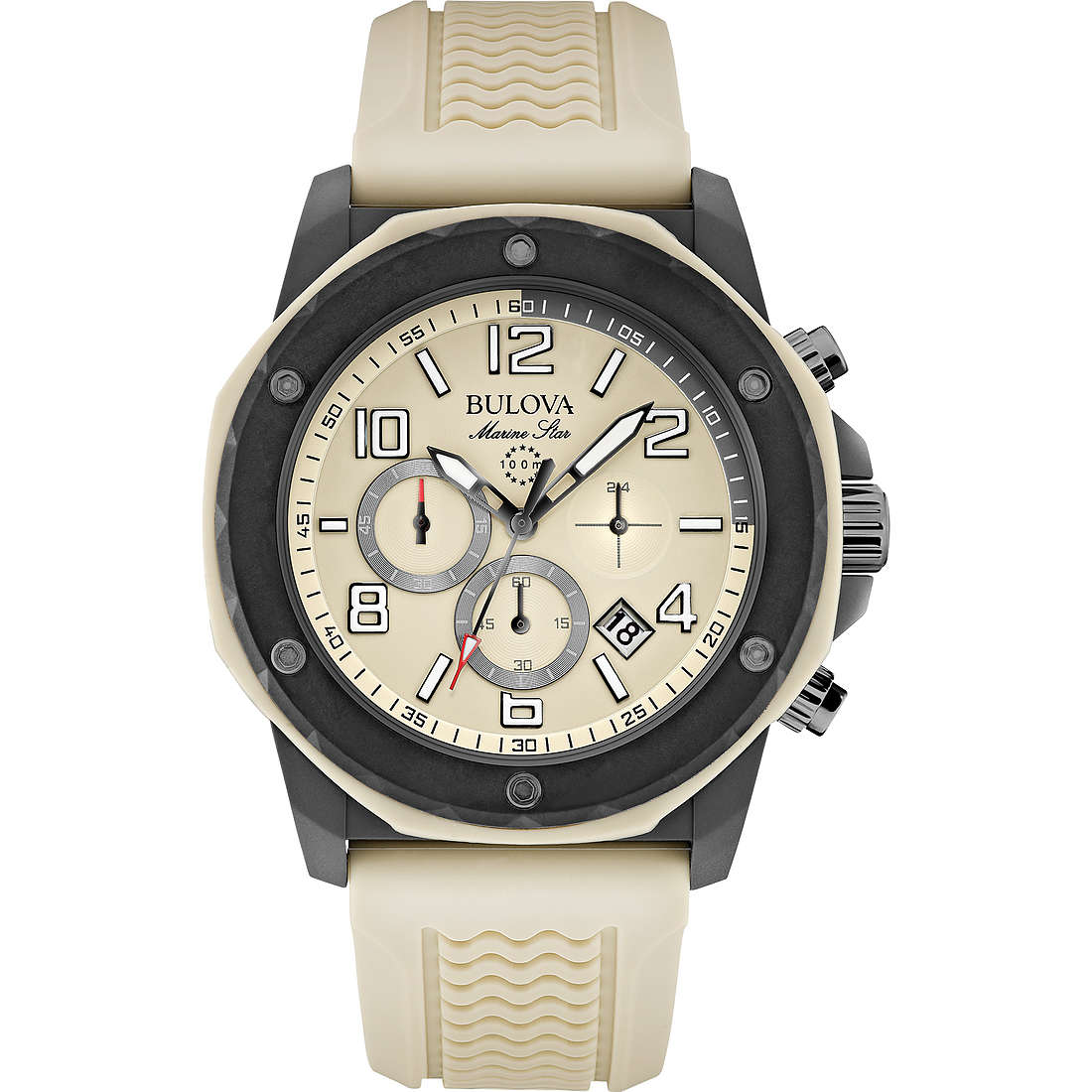 watch chronograph man Bulova Marine Star 98B201
