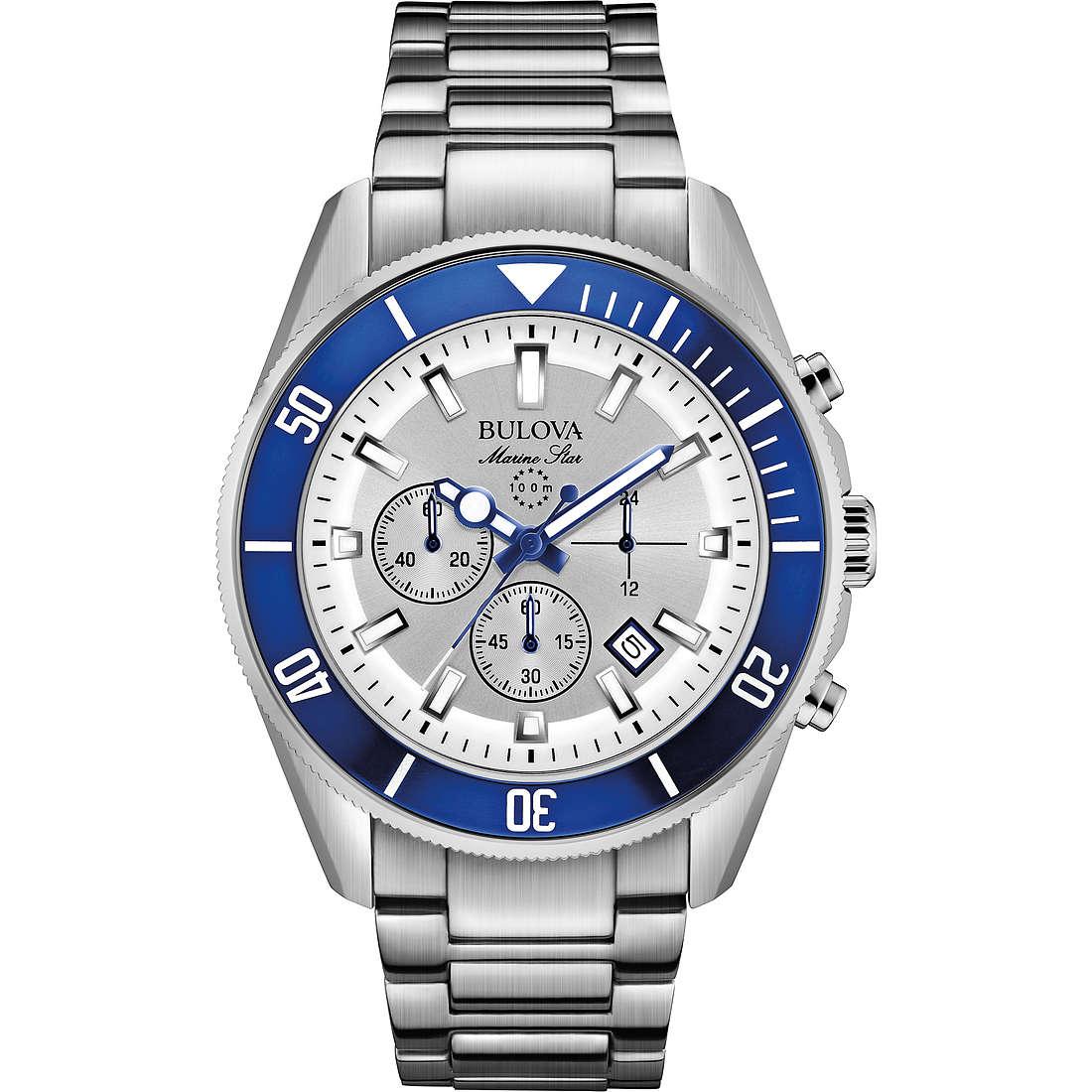 watch chronograph man Bulova Marine Star 98B204