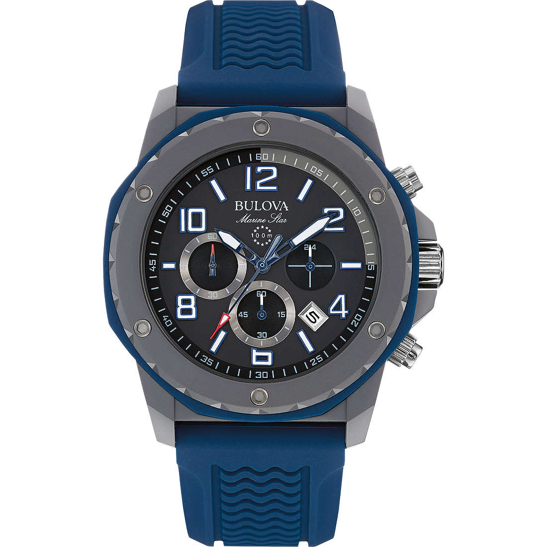 watch chronograph man Bulova Marine Star 98B246