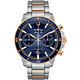 watch chronograph man Bulova Marine Star 98B301