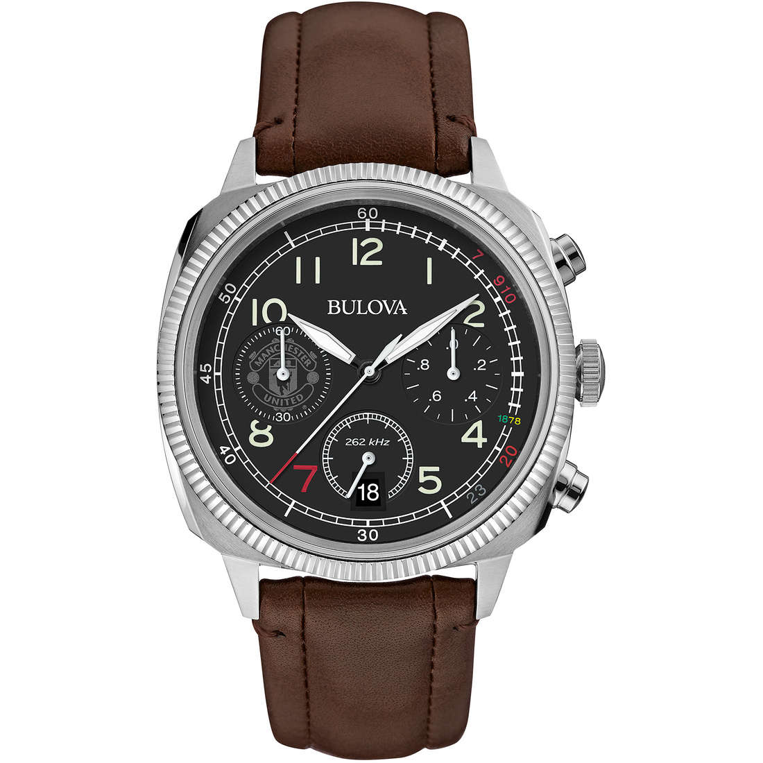 watch chronograph man Bulova Military Vintage 96B250
