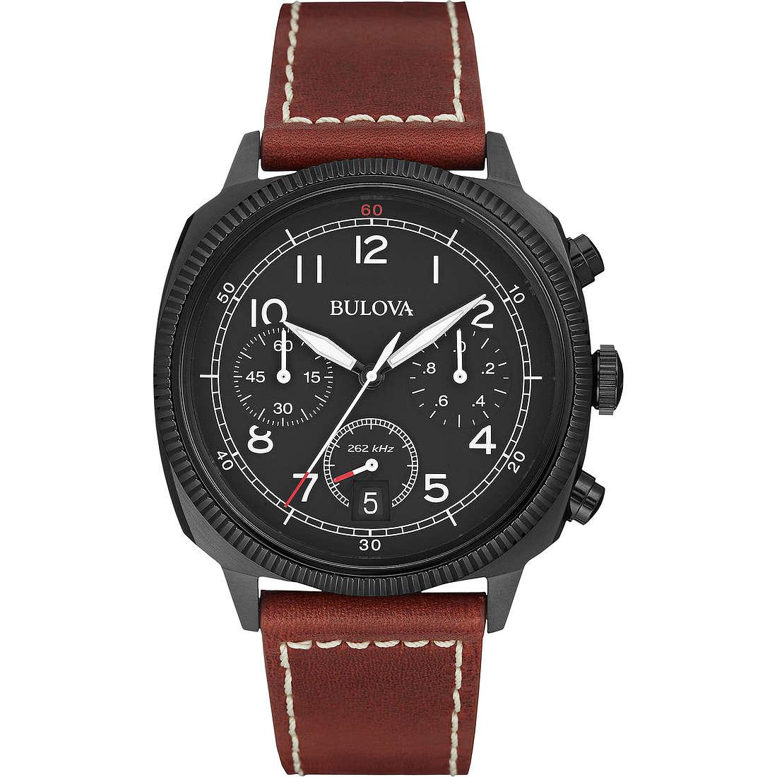 watch chronograph man Bulova Military Vintage 98B245