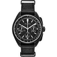 watch chronograph man Bulova Moon Watch 98A186