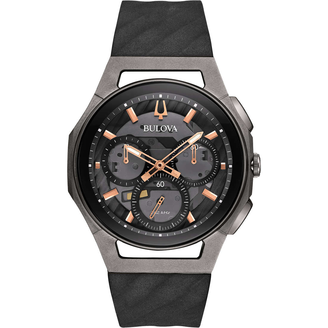 watch chronograph man Bulova Progressive Curv 98A162