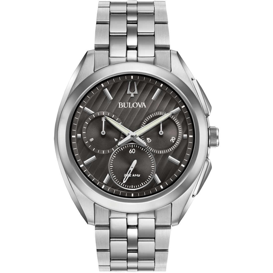 watch chronograph man Bulova Progressive Dress Curv 96A186