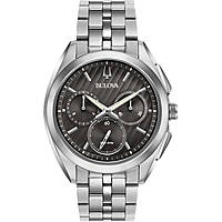 watch chronograph man Bulova Progressive Dress Curv 96A186