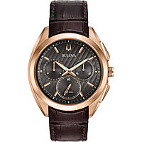 watch chronograph man Bulova Progressive Dress Curv 97A124