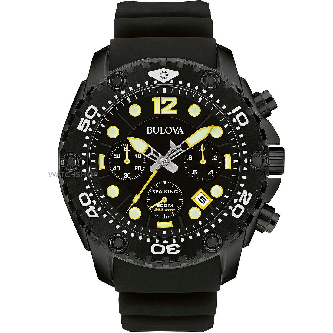 watch chronograph man Bulova Sea King 98B243