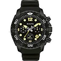 watch chronograph man Bulova Sea King 98B243