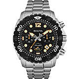 watch chronograph man Bulova Sea King 98B244