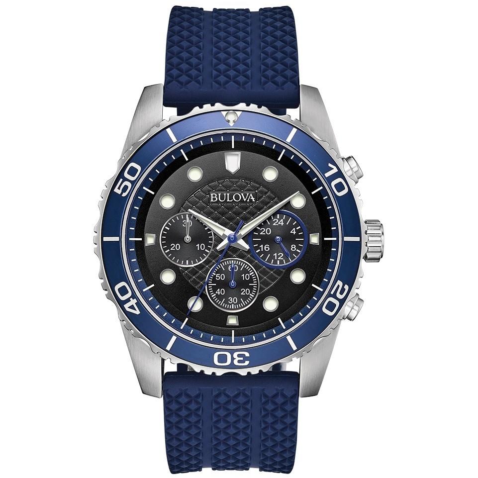 291af1df0 watch chronograph man Bulova Sport 98A190 chronographs Bulova