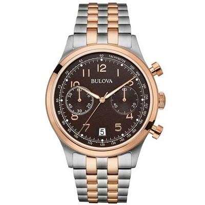 watch chronograph man Bulova Vintage 98B248