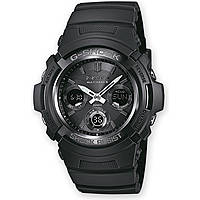 watch chronograph man Casio G-Shock AWG-M100B-1AER