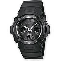 watch chronograph man Casio G-Shock AWG-M100B-1AER