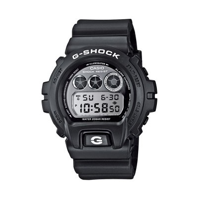 watch chronograph man Casio G-SHOCK DW-6900BW-1ER