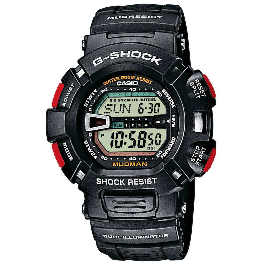 watch chronograph man Casio G-Shock G-9000-1VER