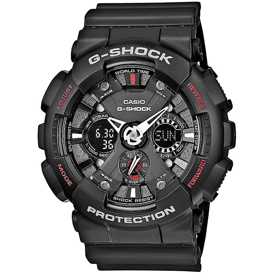 watch chronograph man Casio G-SHOCK GA-120-1AER