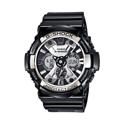 watch chronograph man Casio G-SHOCK GA-200BW-1AER
