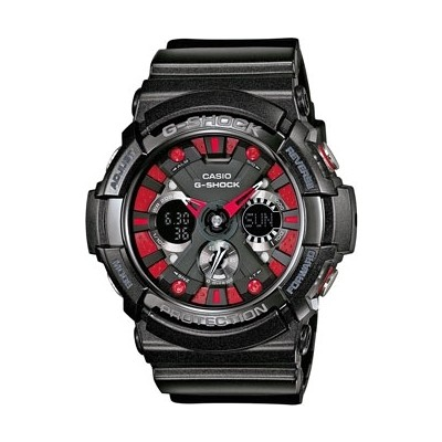 watch chronograph man Casio G-SHOCK GA-200SH-1AER