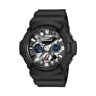 watch chronograph man Casio G-SHOCK GA-201-1AER