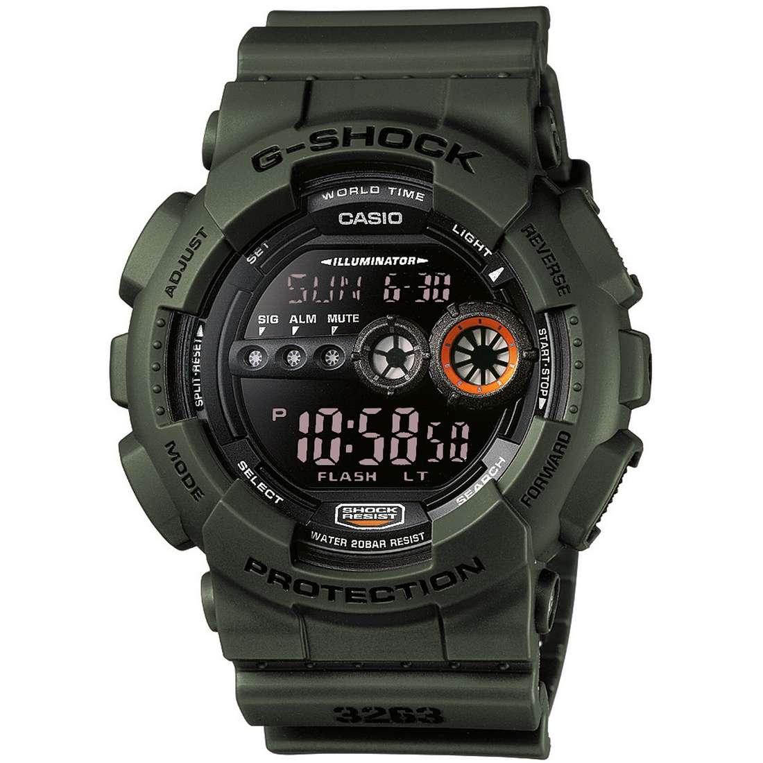 watch chronograph man Casio G-SHOCK GD-100MS-3ER