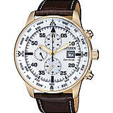 watch chronograph man Citizen Aviator CA0693-12A